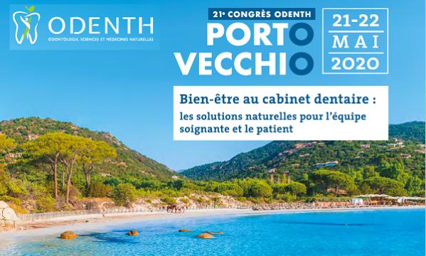21ème Congrès ODENTH – Porto Vecchio 21 et 22 mai 2020