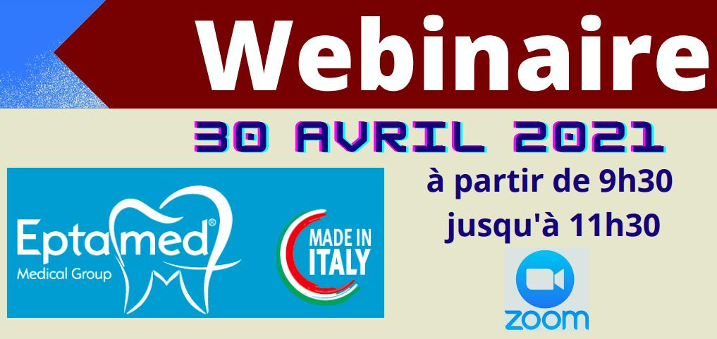 Webinar Eptamed 30 Avril 2021 : Equilibrodontie et l'Ortodontie fonctionnelle