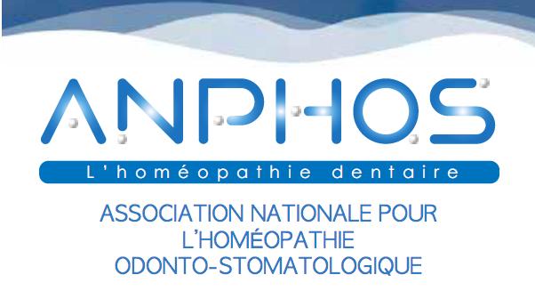 ENSEIGNEMENT D'HOMÉOPATHIE ODONTO-STOMATOLOGIQUE